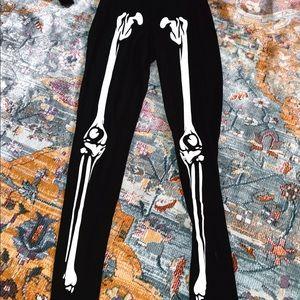 Skellington leggings
